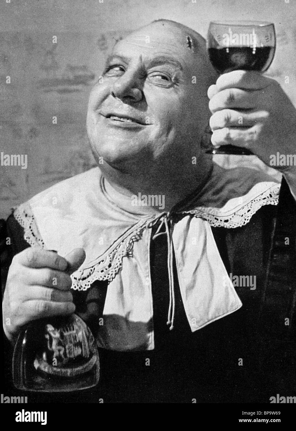 EMIL JANNINGS THE BROKEN JUG (1937) - Stock Image