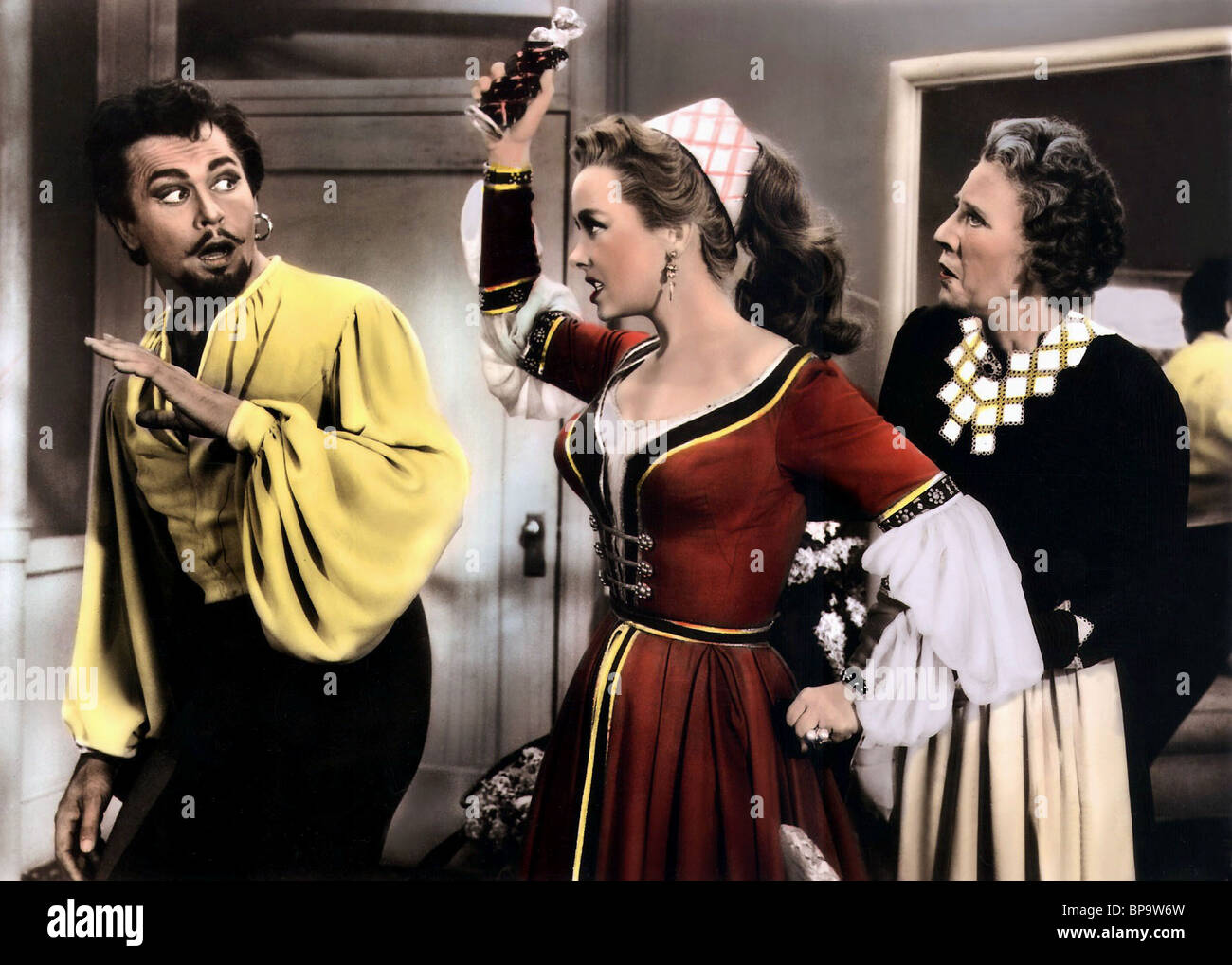 HOWARD KEEL & KATHRYN GRAYSON KISS ME KATE (1953) - Stock Image