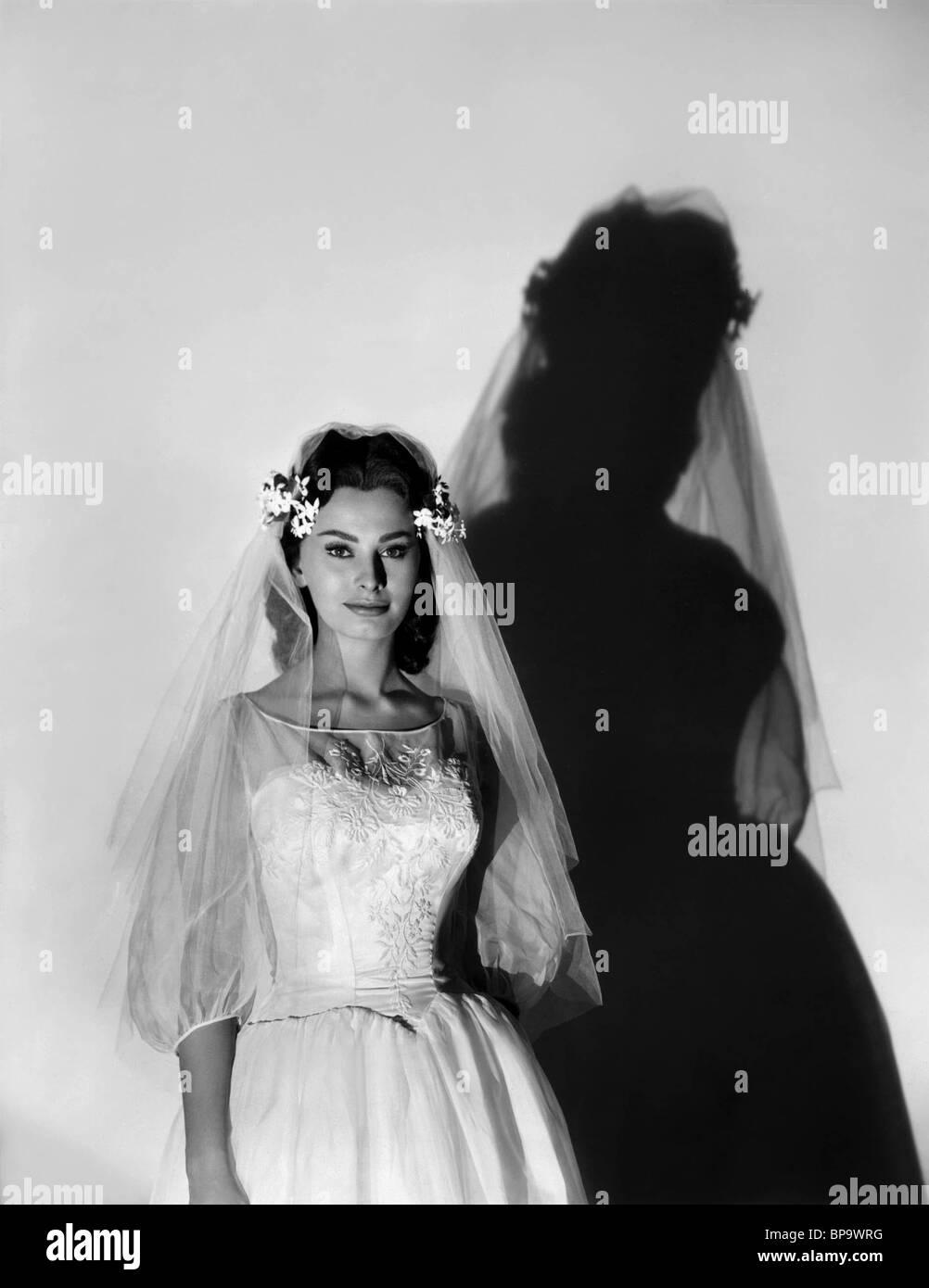 SOPHIA LOREN THE BLACK ORCHID (1958) - Stock Image