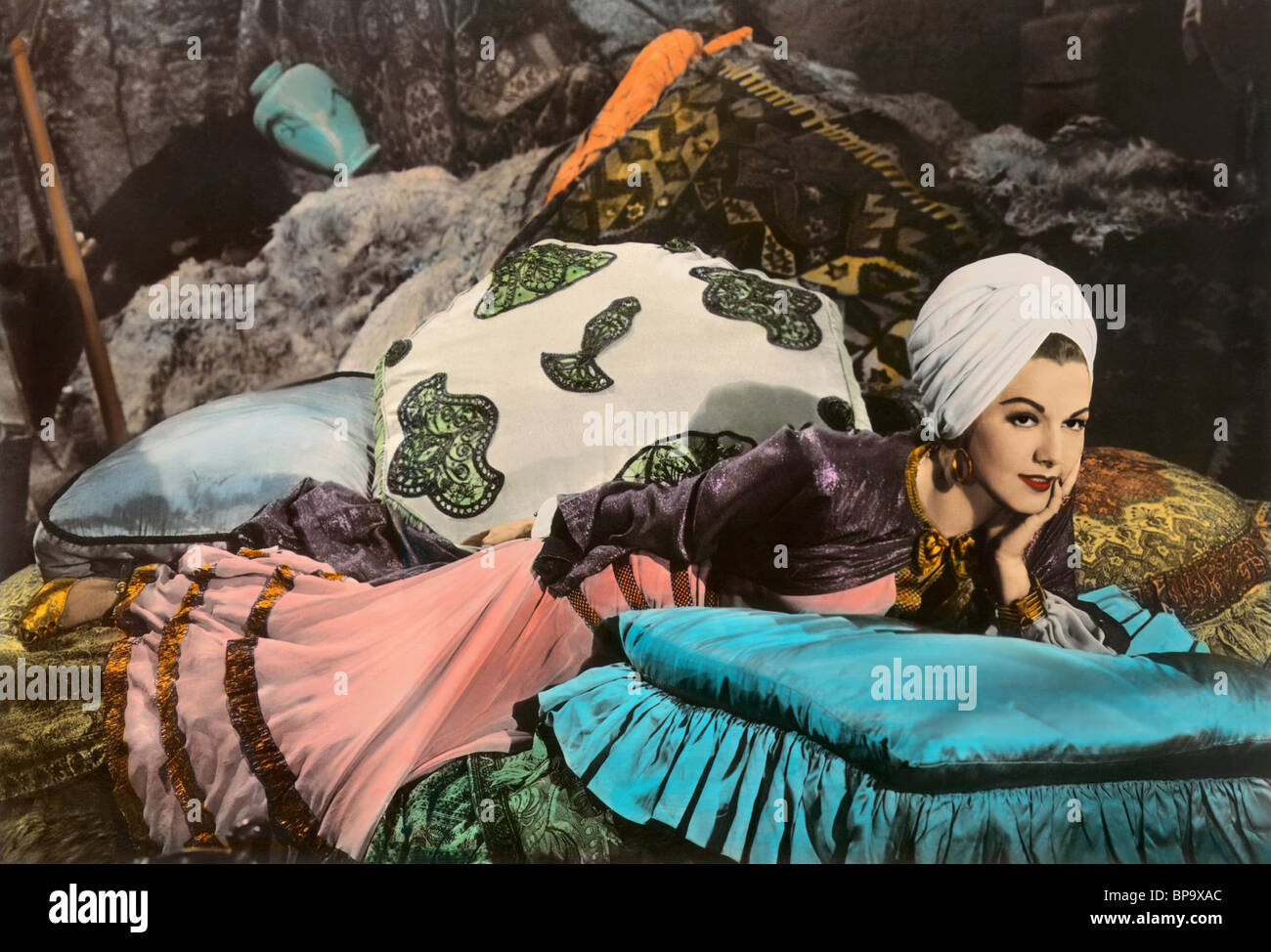 Maria Montez Ali Baba And The Forty Thieves 1944 Stock Photo Alamy