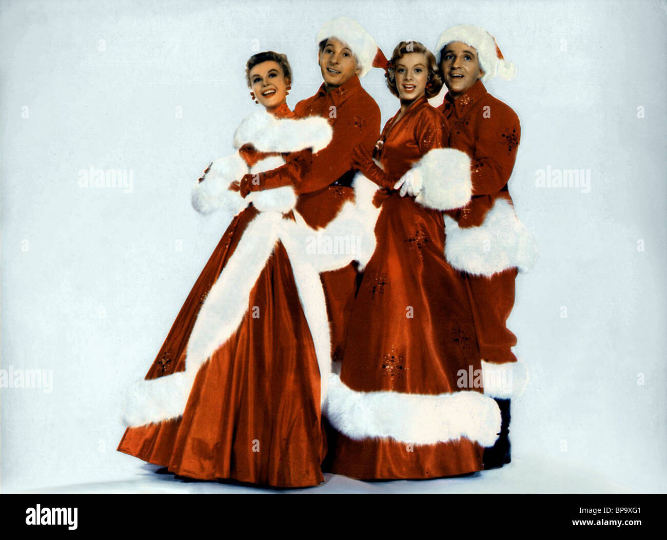 vera ellen danny kaye rosemary clooney bing crosby white christmas 1954 stock - Bing Crosby Christmas