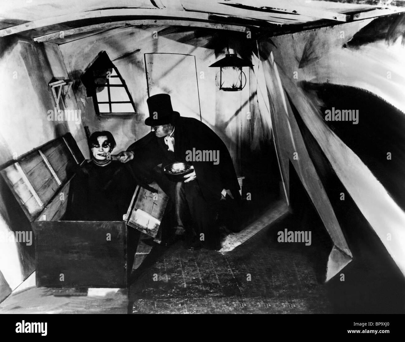 CONRAD VEIDT THE CABINET OF DR. CALIGARI (1919) - Stock Image