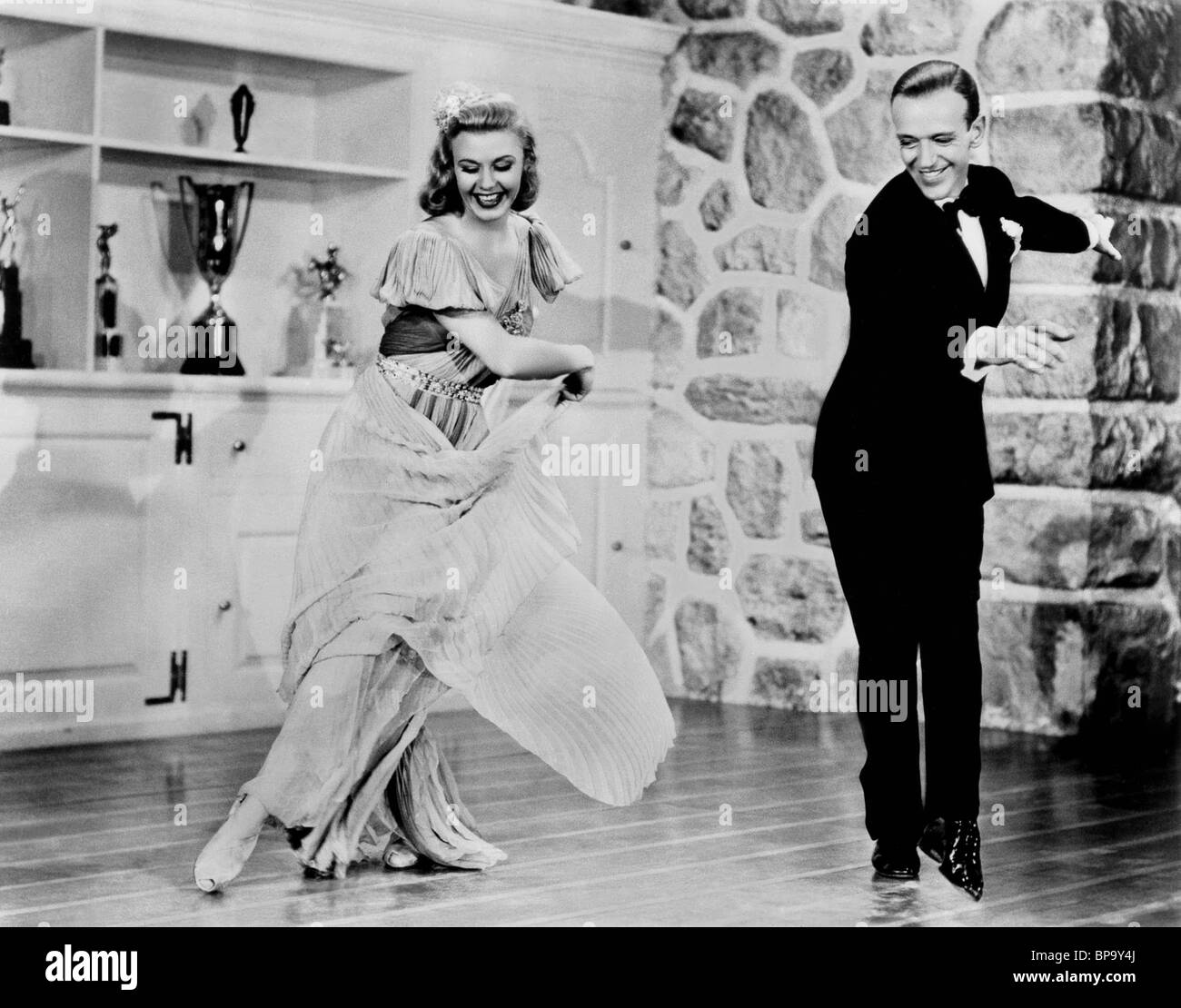 GINGER ROGERS, FRED ASTAIRE, CAREFREE, 1938 Stock Photo