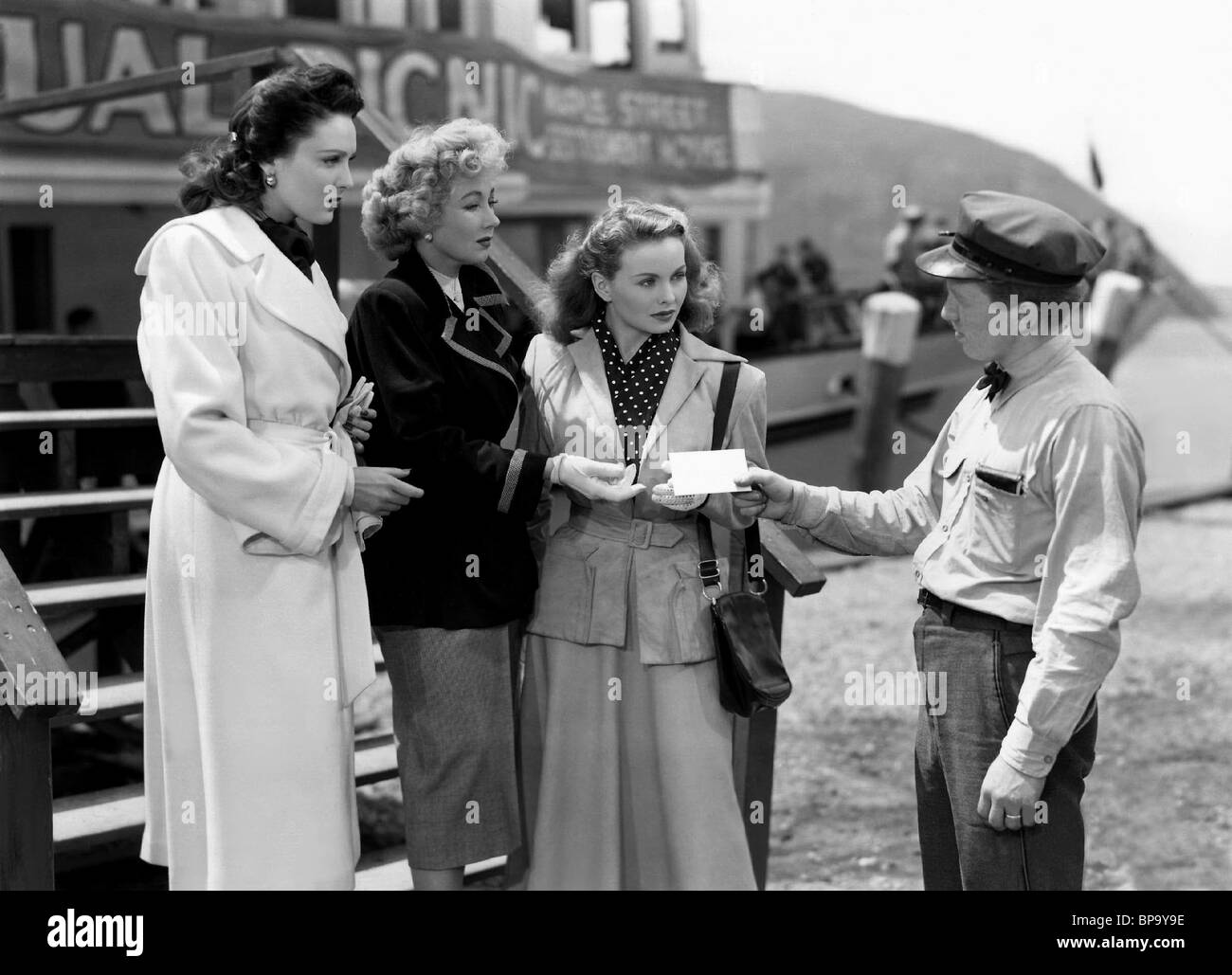 LINDA DARNELL ANN SOTHERN & JEANNE CRAIN A LETTER TO THREE WIVES