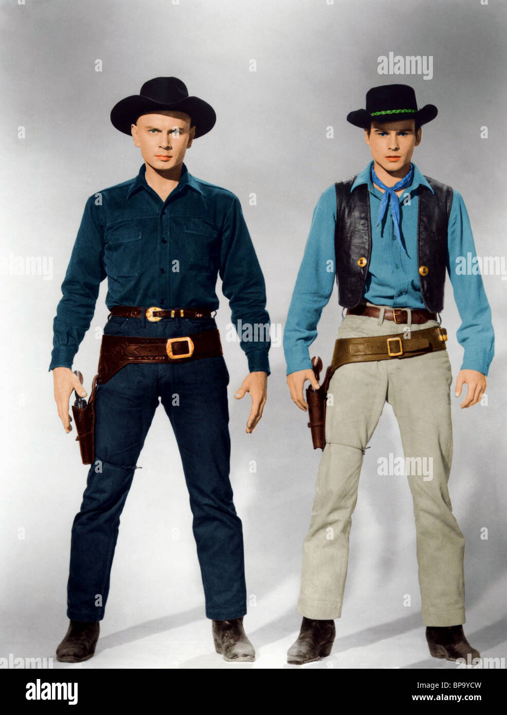 YUL BRYNNER, HORST BUCHHOLZ, THE MAGNIFICENT SEVEN, 1960 ...