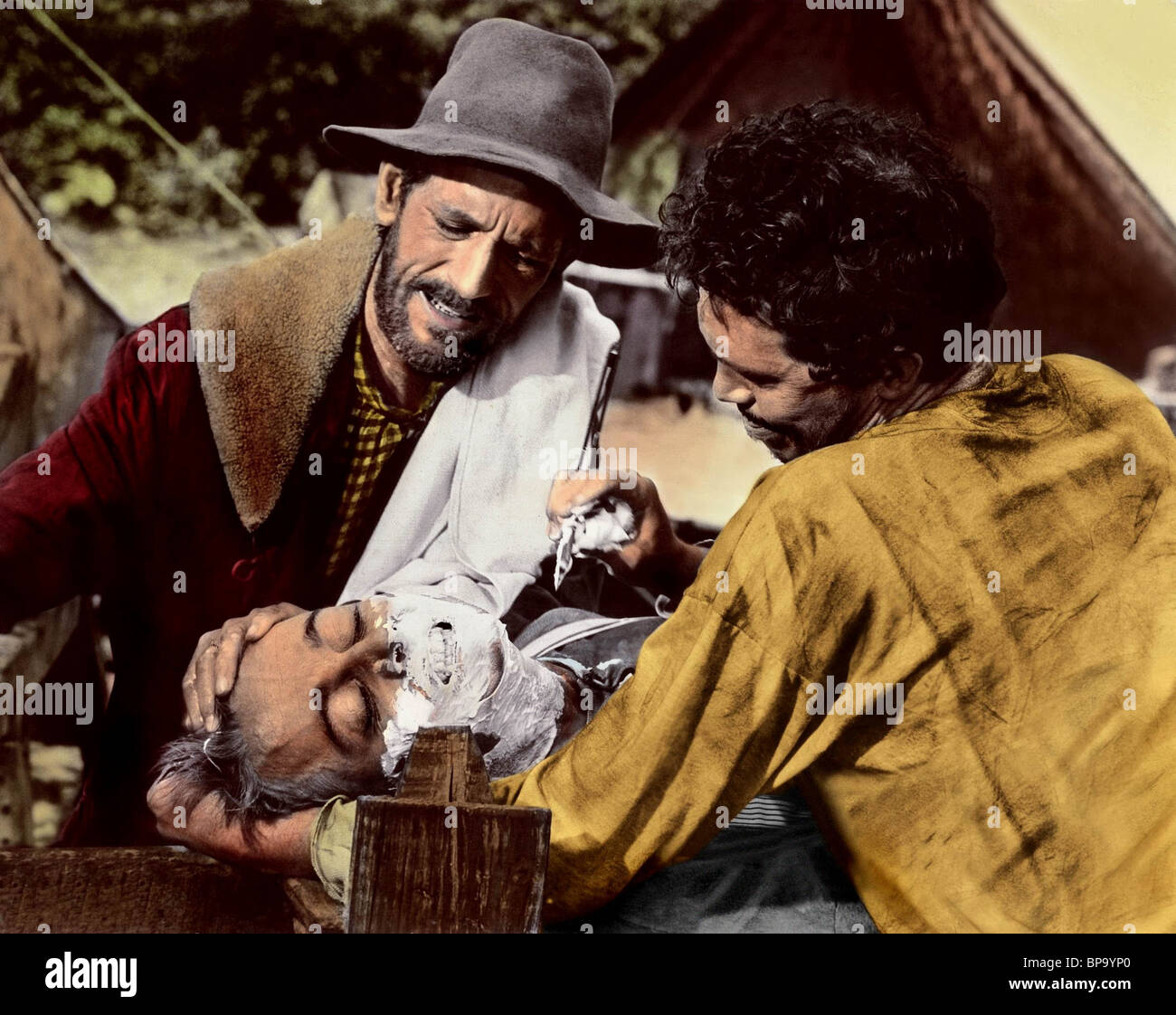 JOHN ANDERSON JOHN DAVIS CHANDLER WARREN OATES RIDE THE HIGH COUNTRY; GUNS IN THE AFTERNOON (1962) - Stock Image