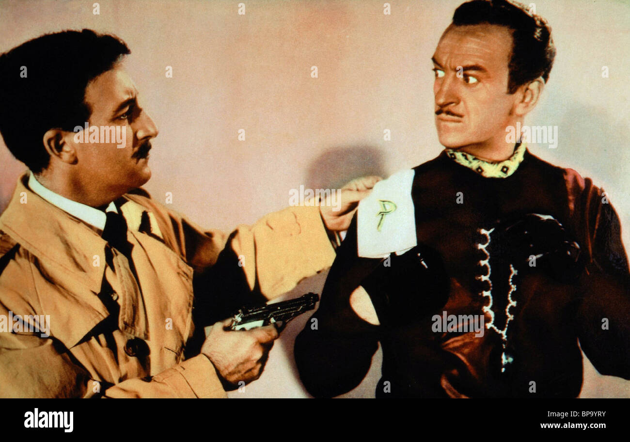 206a77b20fdd PETER SELLERS, DAVID NIVEN, THE PINK PANTHER, 1963 Stock Photo ...