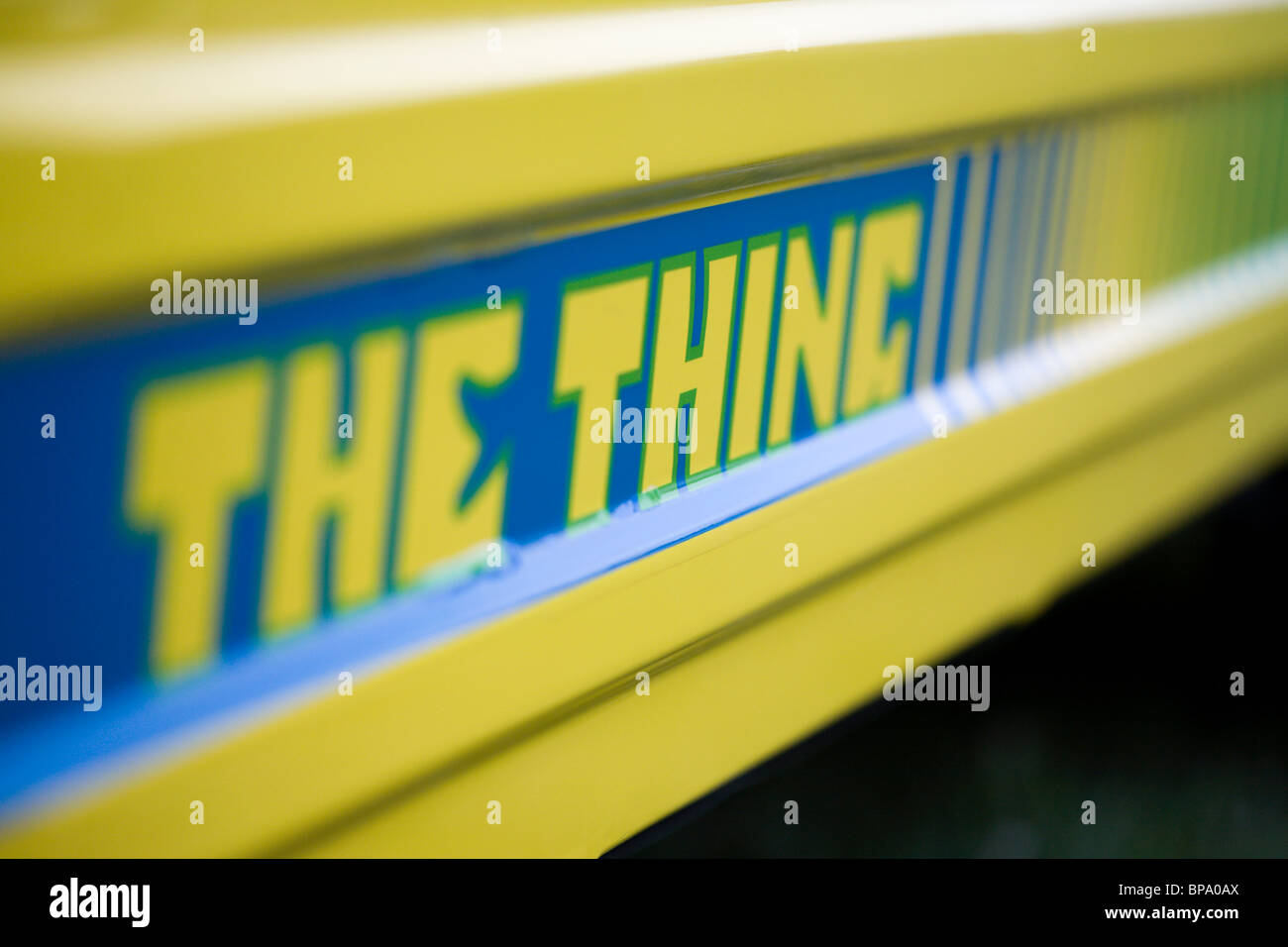 The Thing - Stock Image