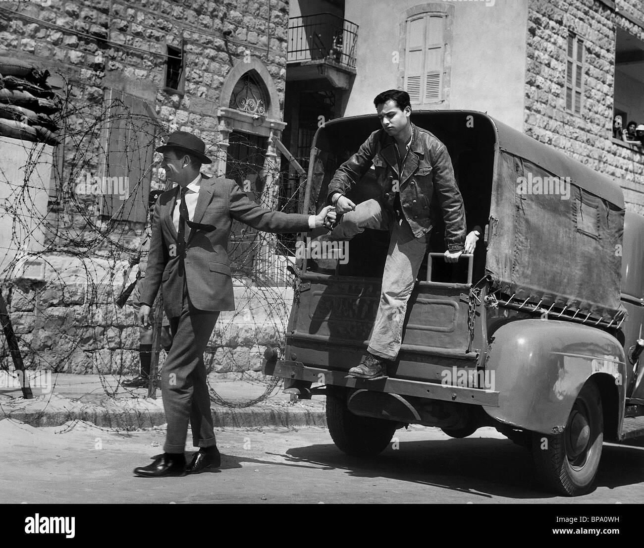 SAL MINEO EXODUS (1960) - Stock Image
