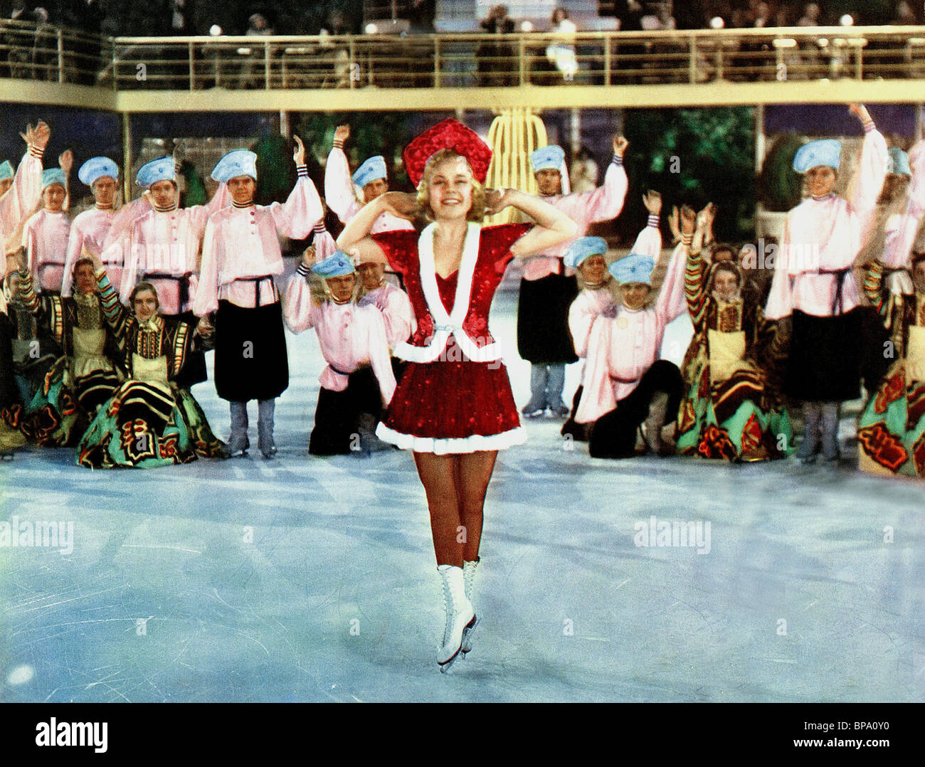 Sonja Henie Lovely To Look At Thin Ice 1937 Stock Photo 30953076