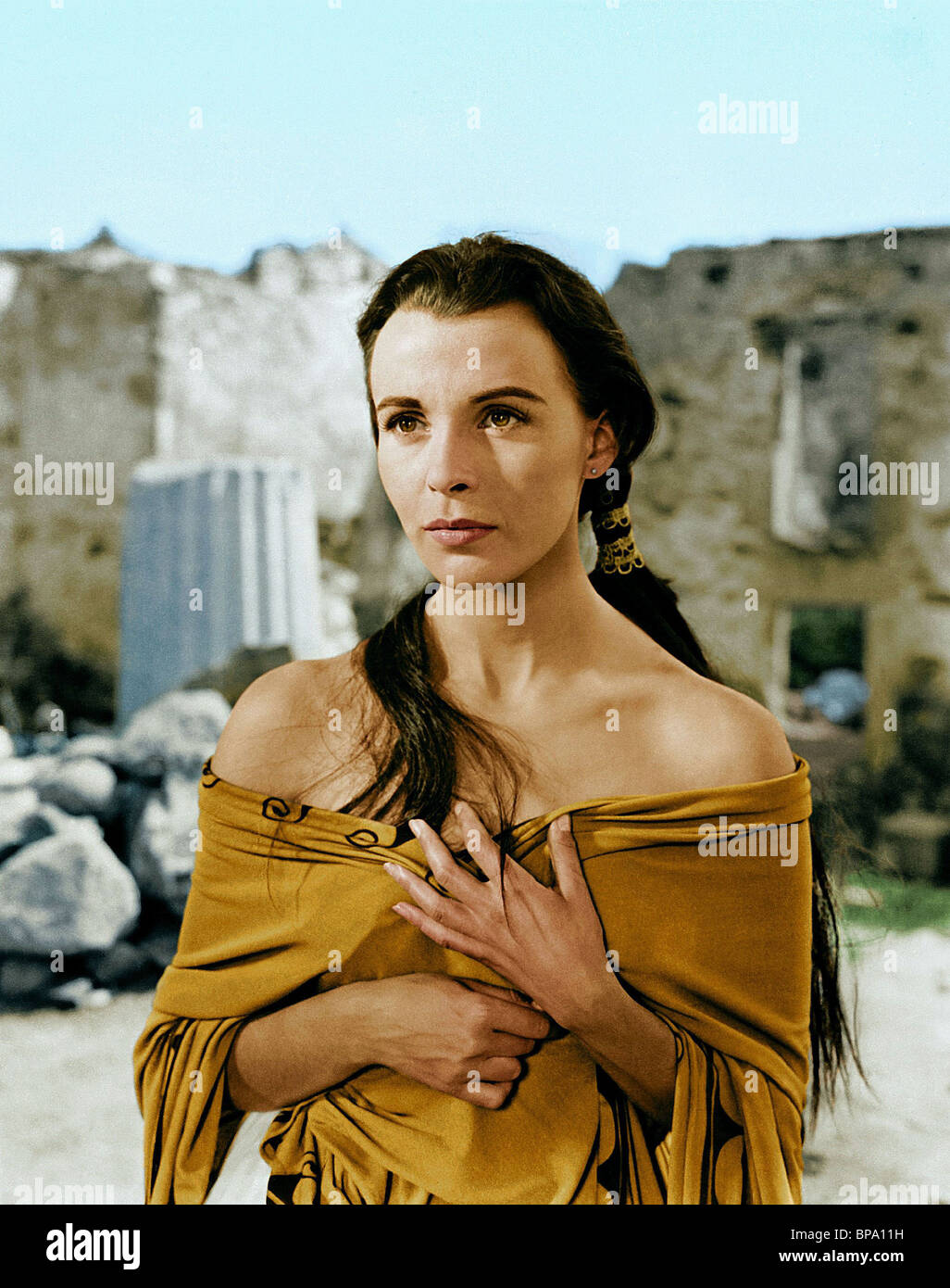CLAIRE BLOOM ALEXANDER THE GREAT (1956) - Stock Image