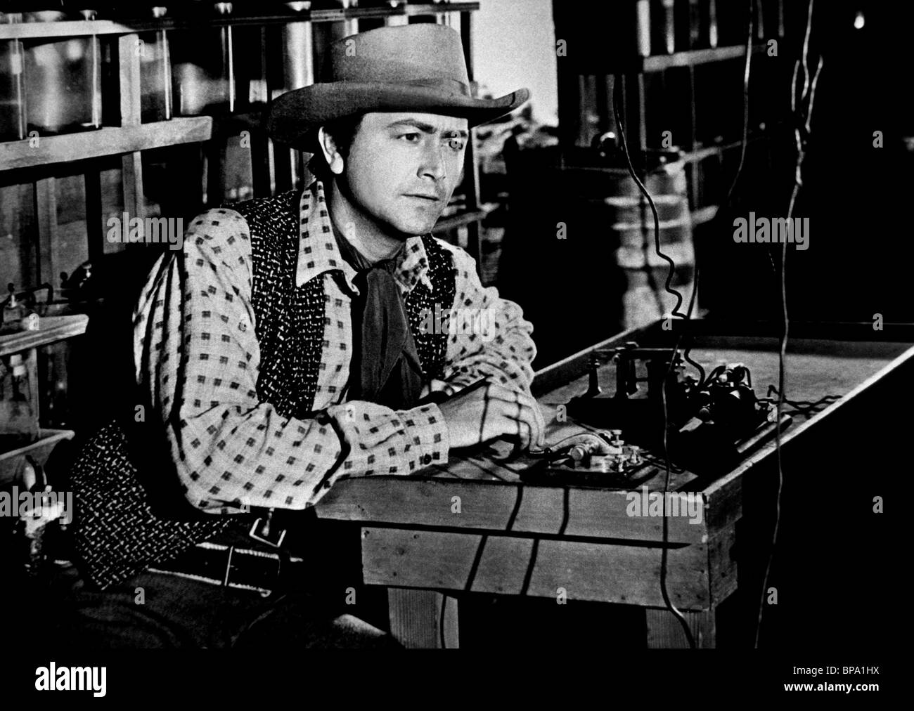ROBERT YOUNG WESTERN UNION (1941) - Stock Image