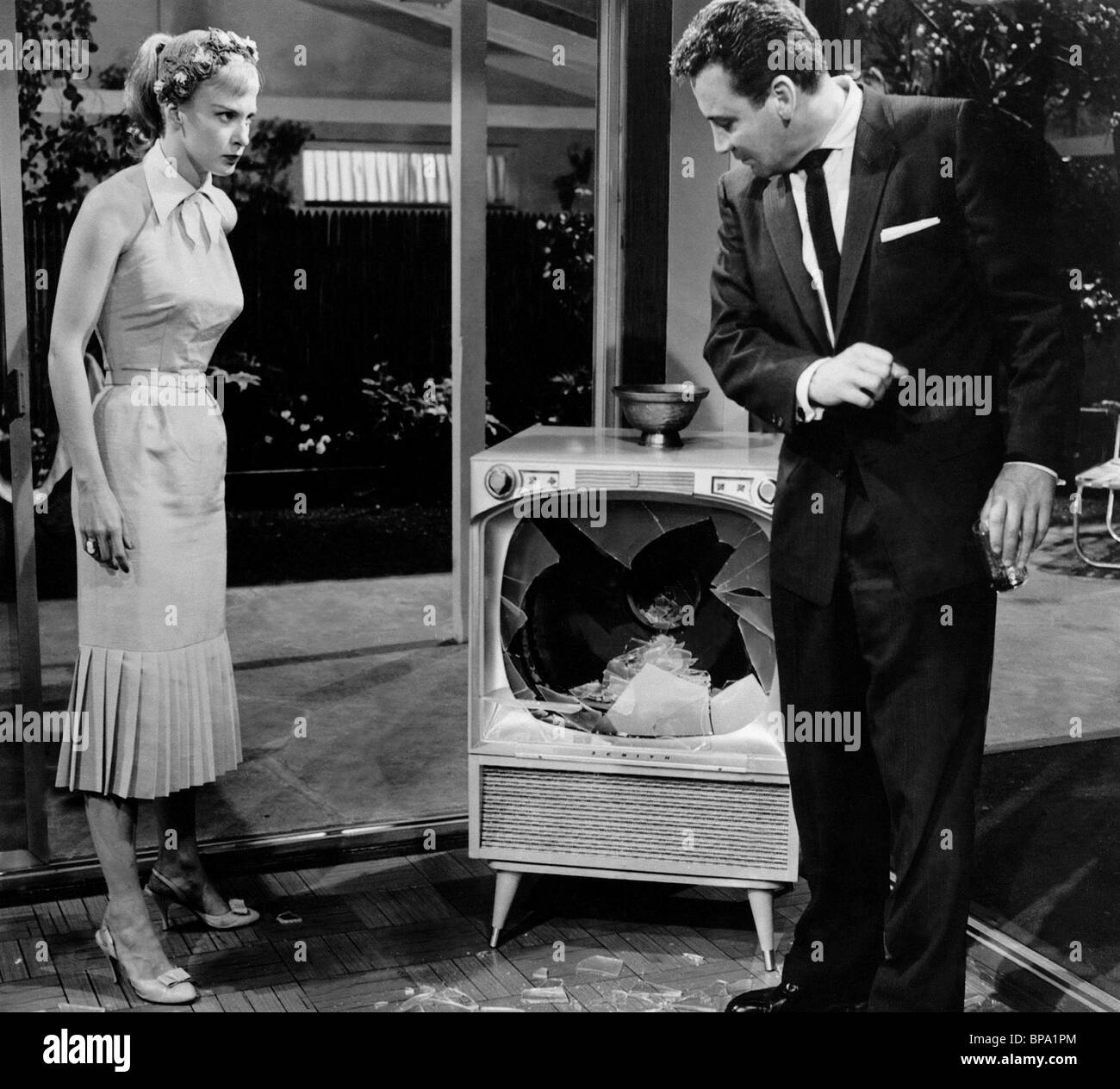 JOANNE WOODWARD, CAMERON MITCHELL, NO DOWN PAYMENT, 1957 Stock ...