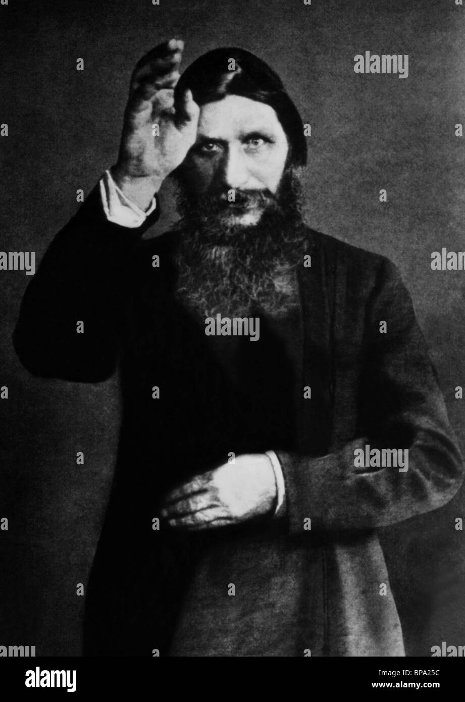 RASPUTIN FROM CZAR TO STALIN (1962) - Stock Image