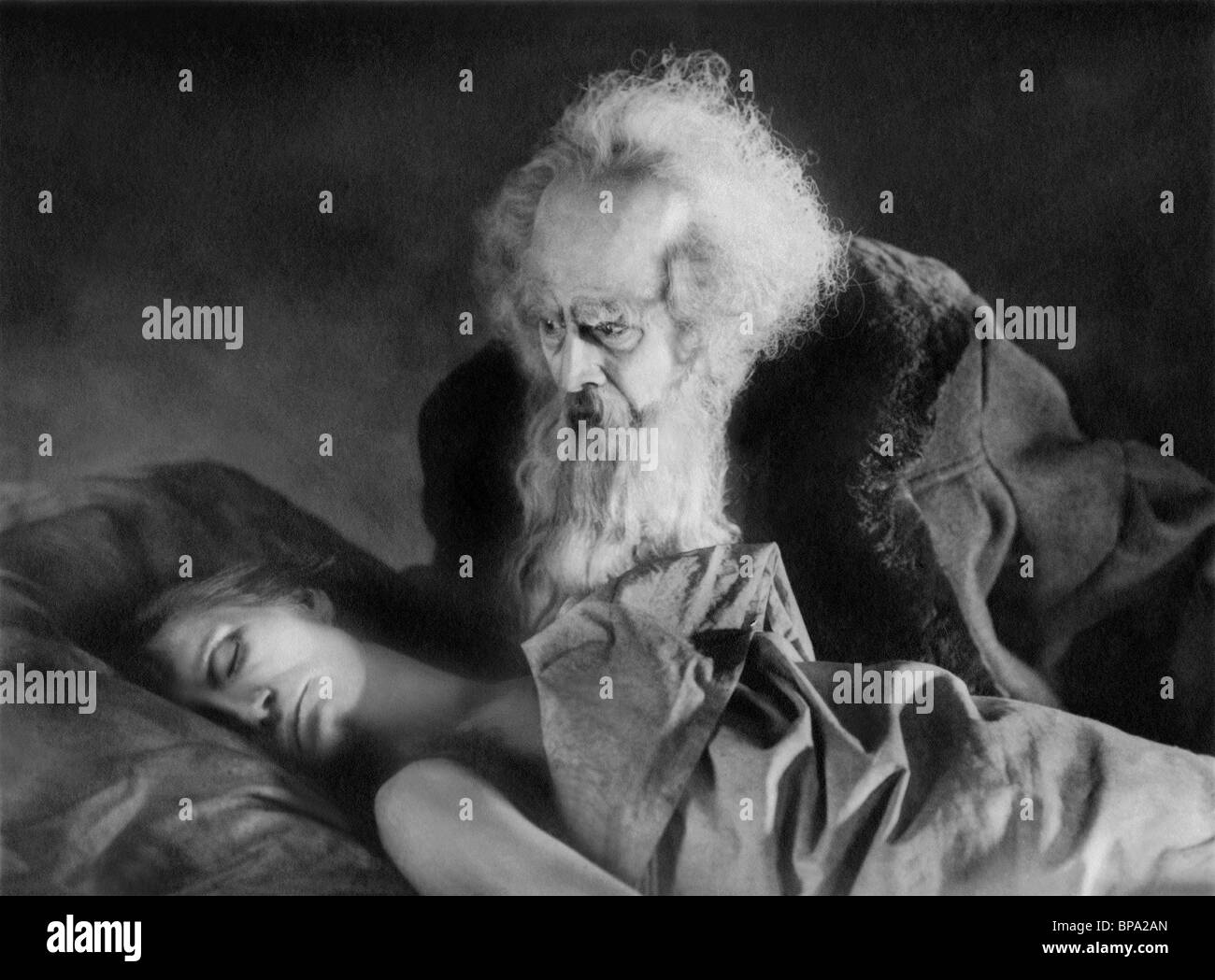 GOSTA EKMAN FAUST: A GERMAN FOLK LEGEND (1926) - Stock Image