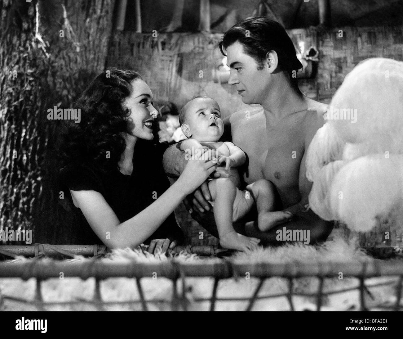 Maureen O Sullivan Johnny Weissmuller Tarzan Finds A Son