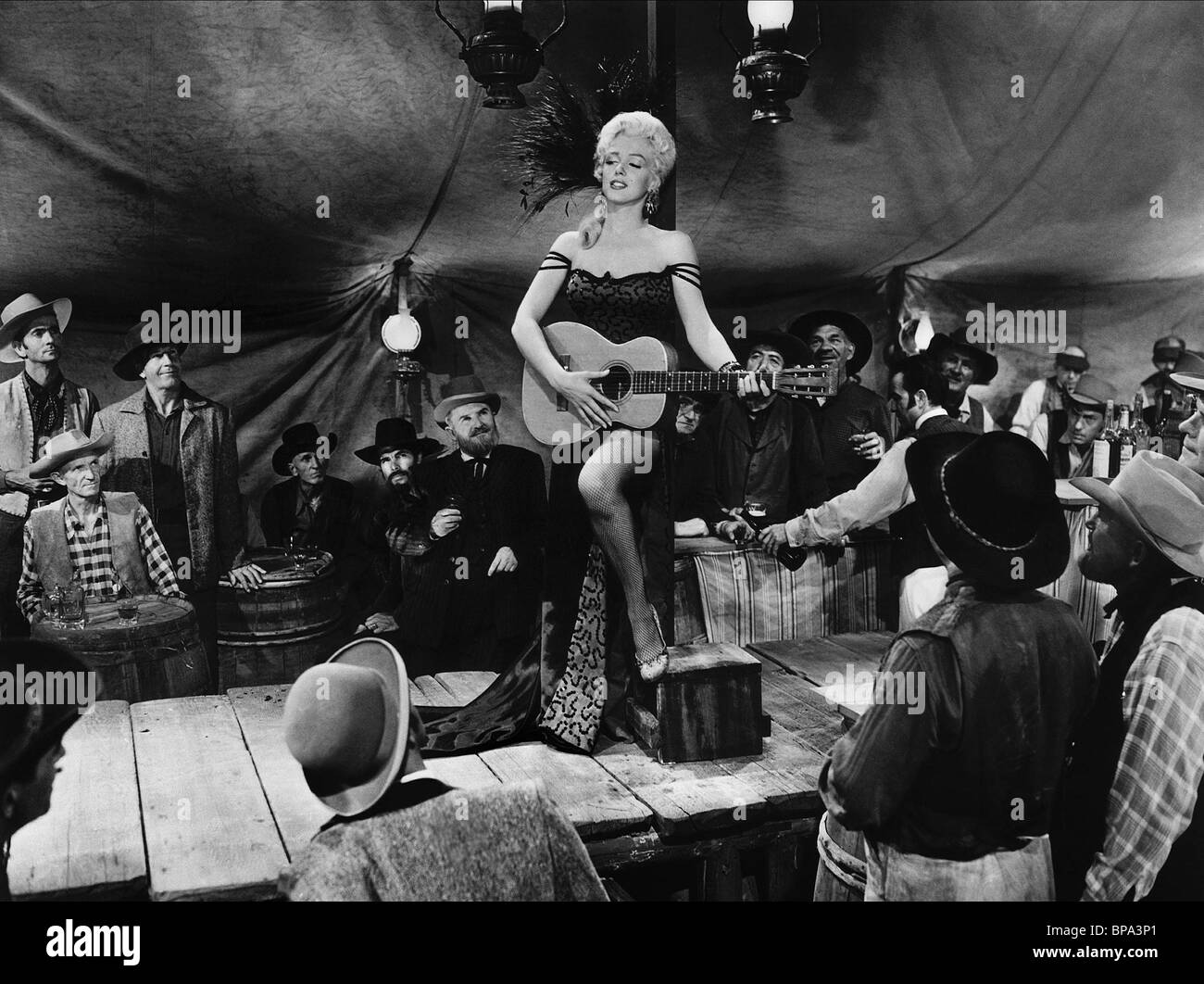 marilyn monroe river of no return 1954 stock photo 30955289 alamy