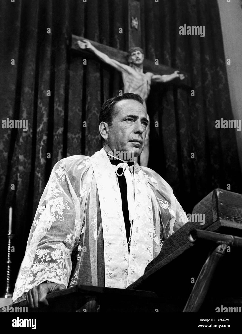 HUMPHREY BOGART THE LEFT HAND OF GOD (1955) - Stock Image