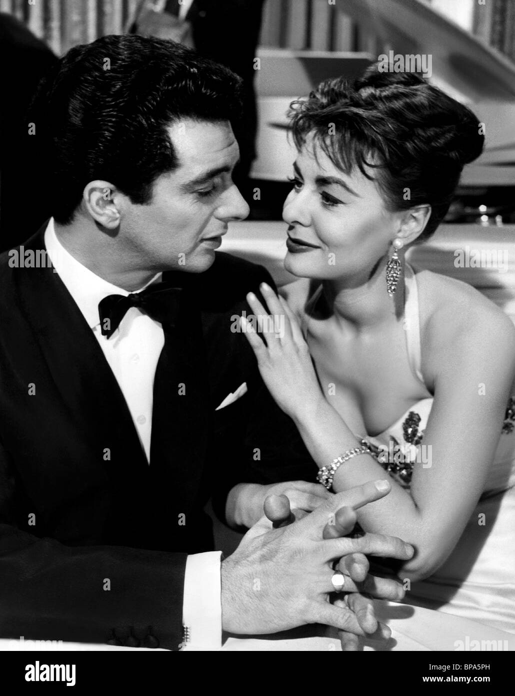 FRANKIE VAUGHAN & ANNE HEYWOOD THE HEART OF A MAN; (1959) - Stock Image