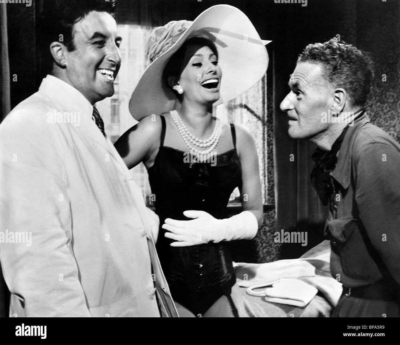 PETER SELLERS, SOPHIA LOREN, ANTHONY ASQUITH, THE MILLIONAIRESS ...