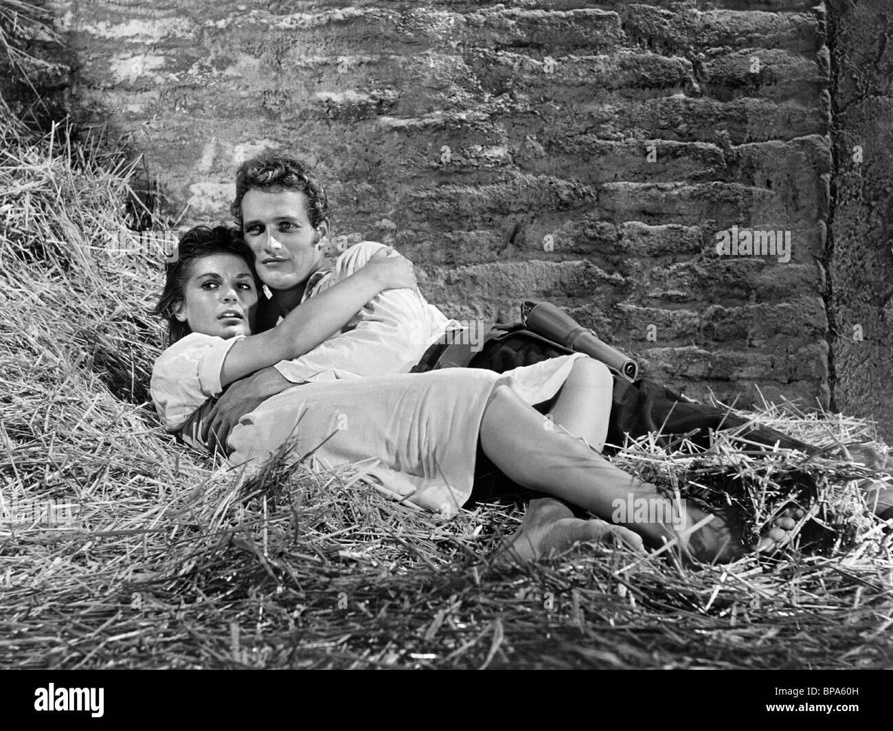 LITA MILAN, PAUL NEWMAN, THE LEFT HANDED GUN, 1958 - Stock Image