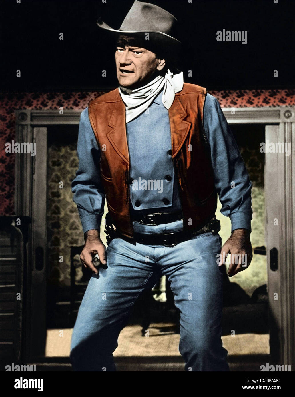 JOHN WAYNE MCLINTOCK! (1963) - Stock Image