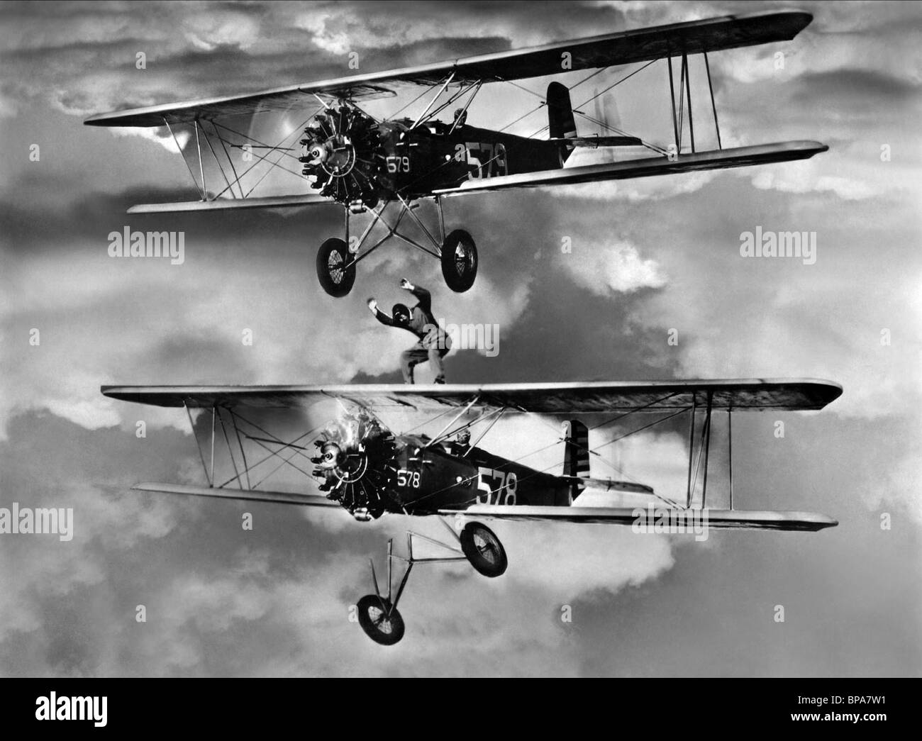 MOVIE SCENE WEST POINT OF THE AIR (1935) - Stock Image