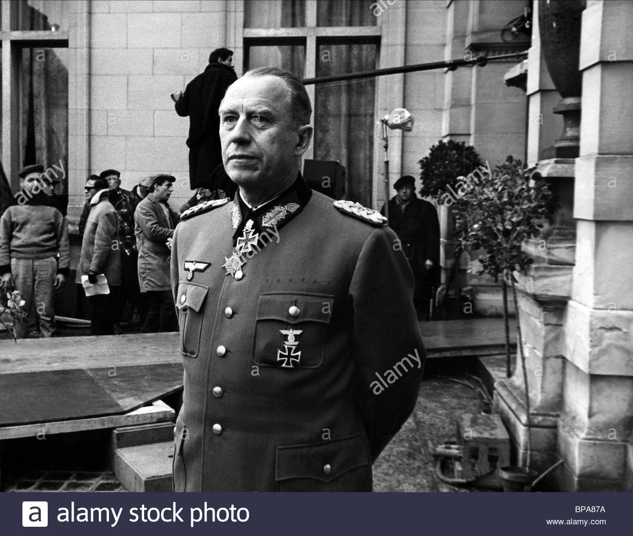 WERNER HINZ THE LONGEST DAY (1962) - Stock Image