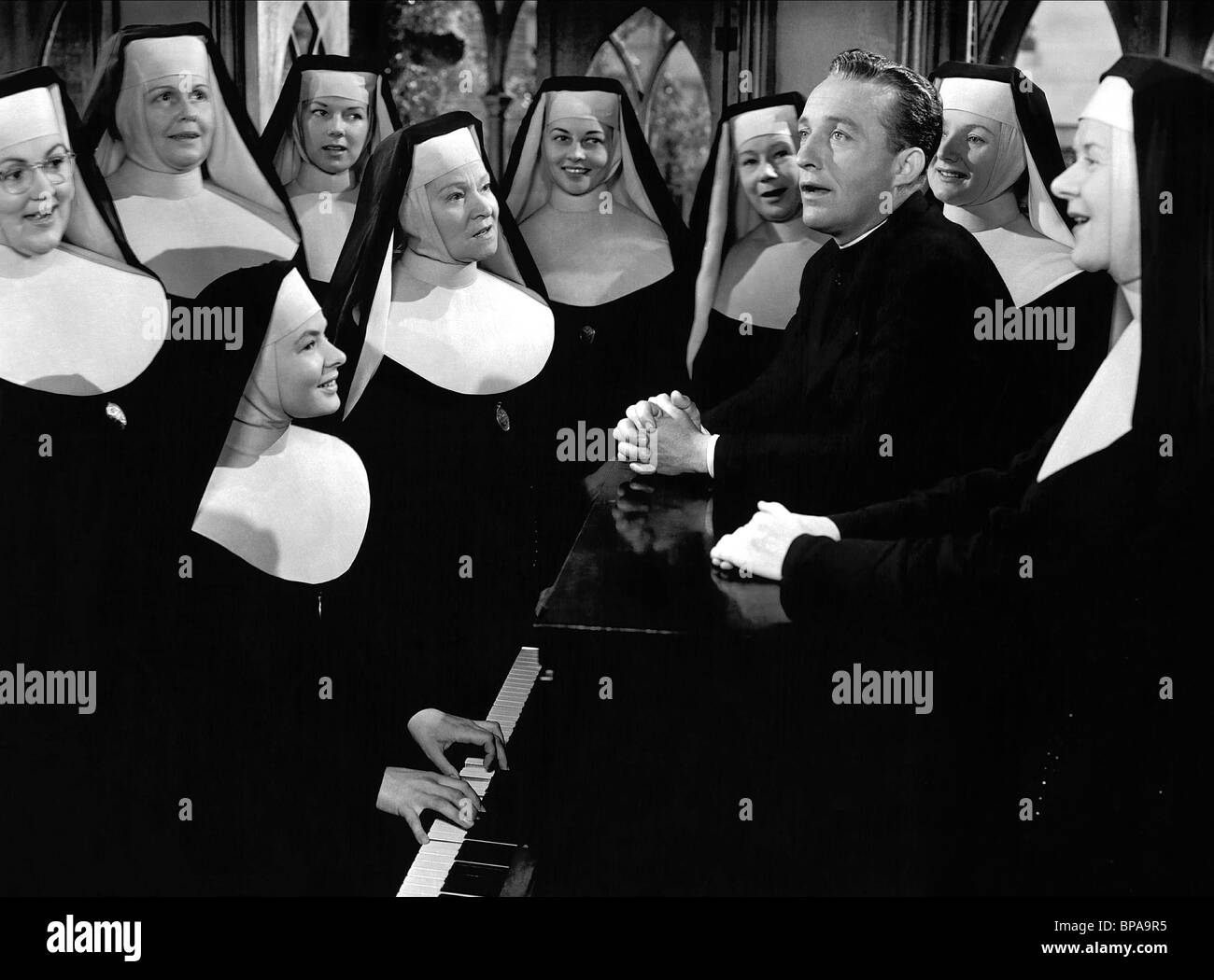 BING CROSBY THE BELLS OF ST. MARY'S (1945) - Stock Image