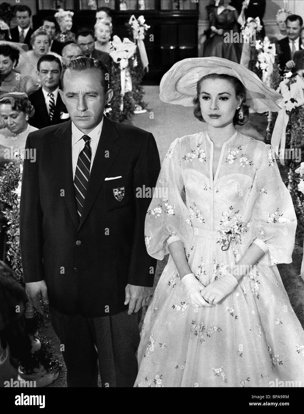 BING CROSBY, GRACE KELLY, HIGH SOCIETY, 1956 - Stock Image