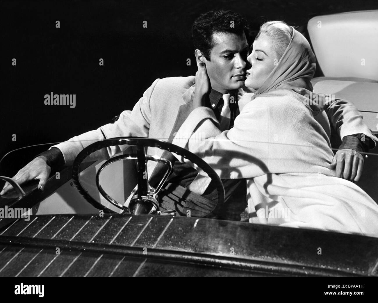 TONY CURTIS, MARTHA HYER, MISTER CORY, 1957 - Stock Image
