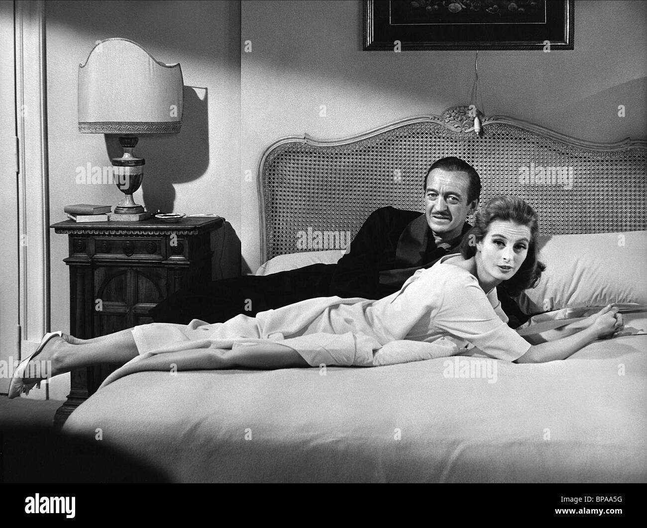d66236183c17 DAVID NIVEN, CAPUCINE, THE PINK PANTHER, 1963 Stock Photo: 30960316 ...