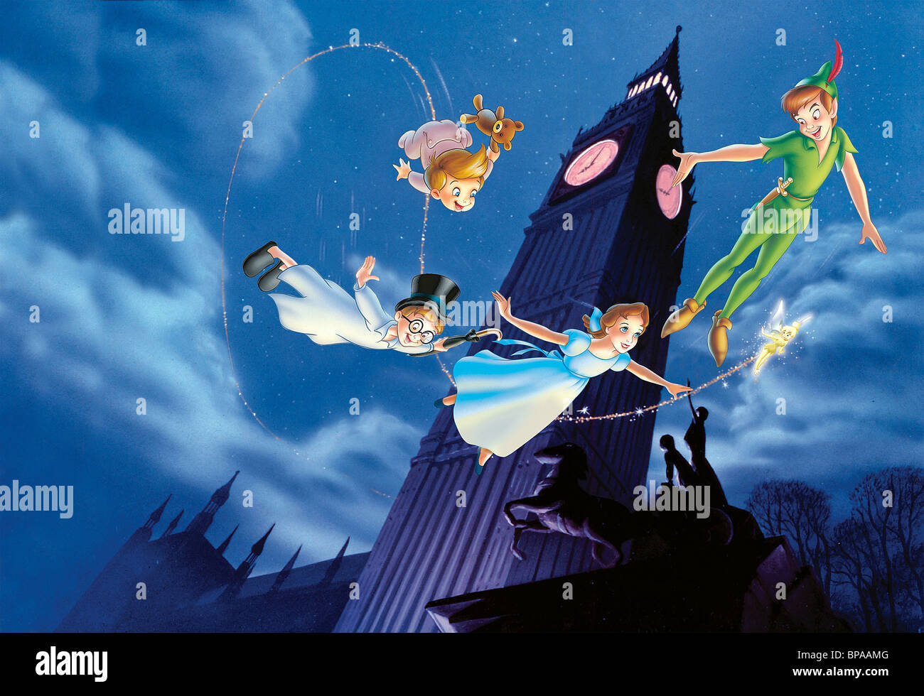 For peter pan and wendy phrase