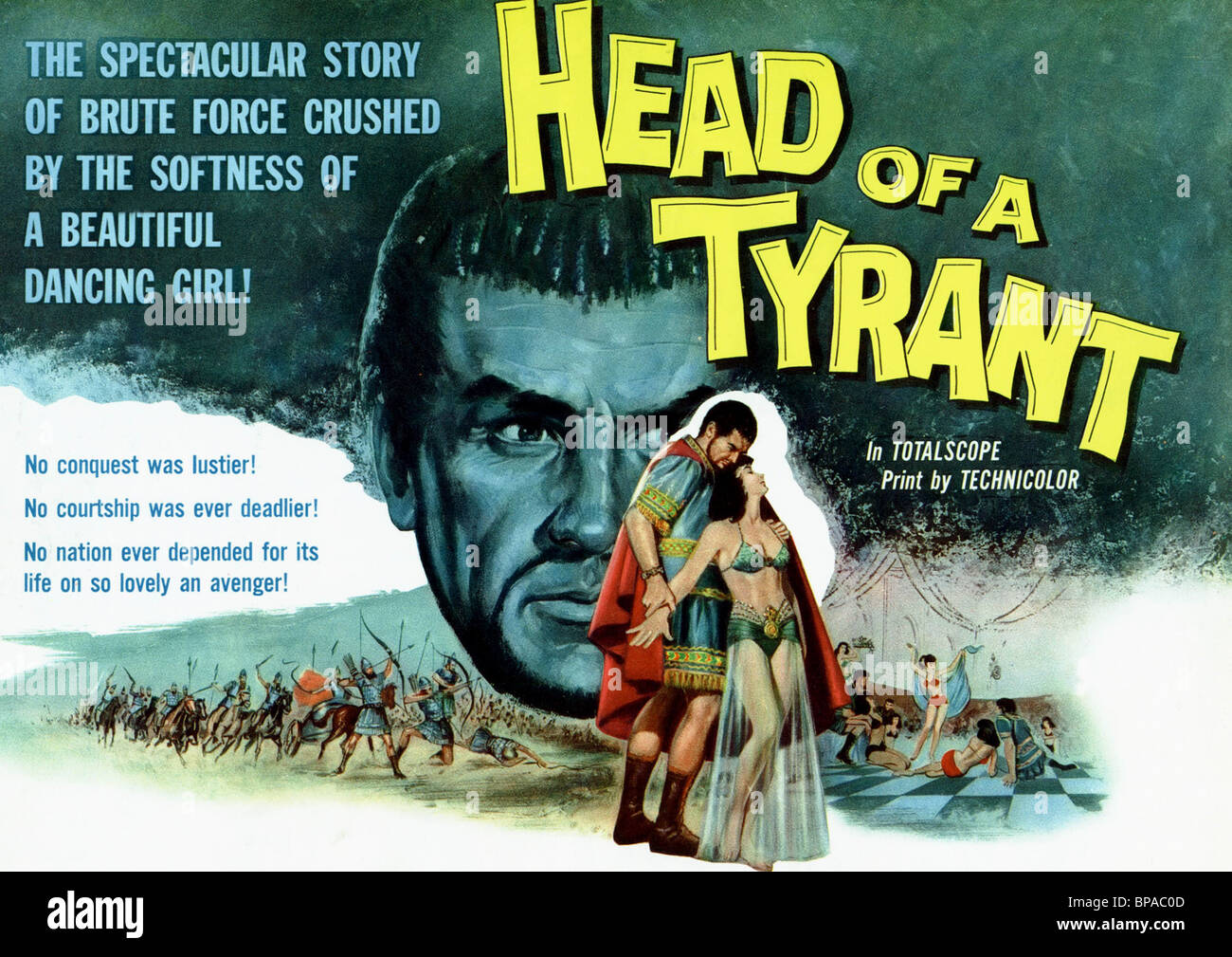 FILM POSTER HEAD OF A TYRANT (1959 Stock Photo: 30961741 - Alamy