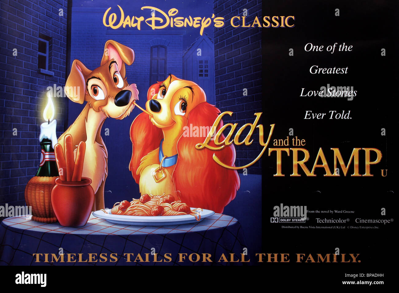 Disney Lady And The Tramp Movie High Resolution Stock Photography And Images Alamy