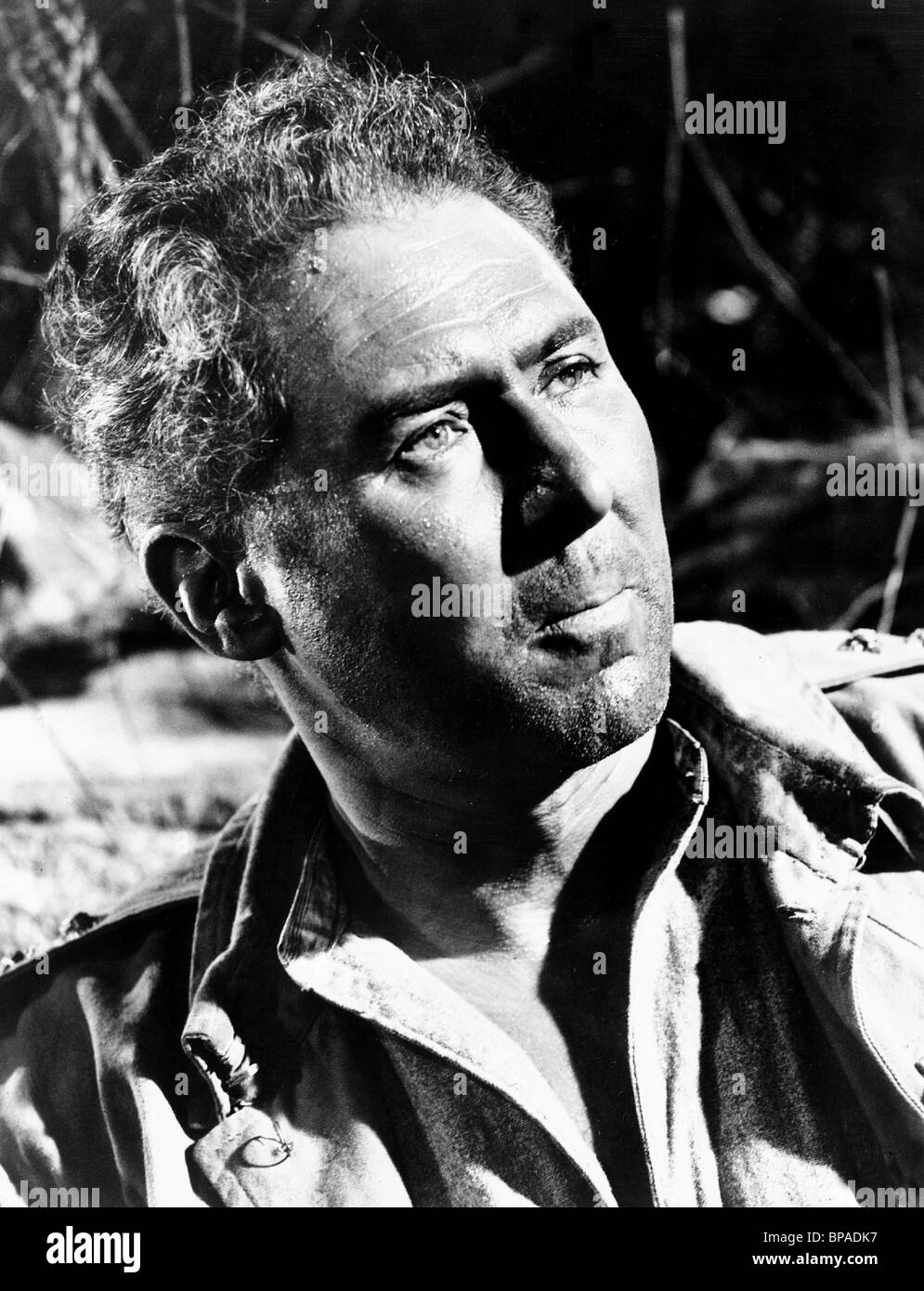 ANTHONY QUAYLE ACTOR (1945) - Stock Image