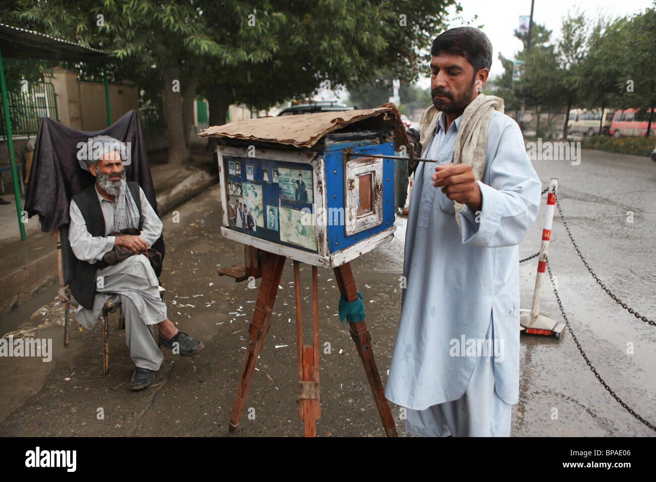 last analog camera in kabul - Stock Image