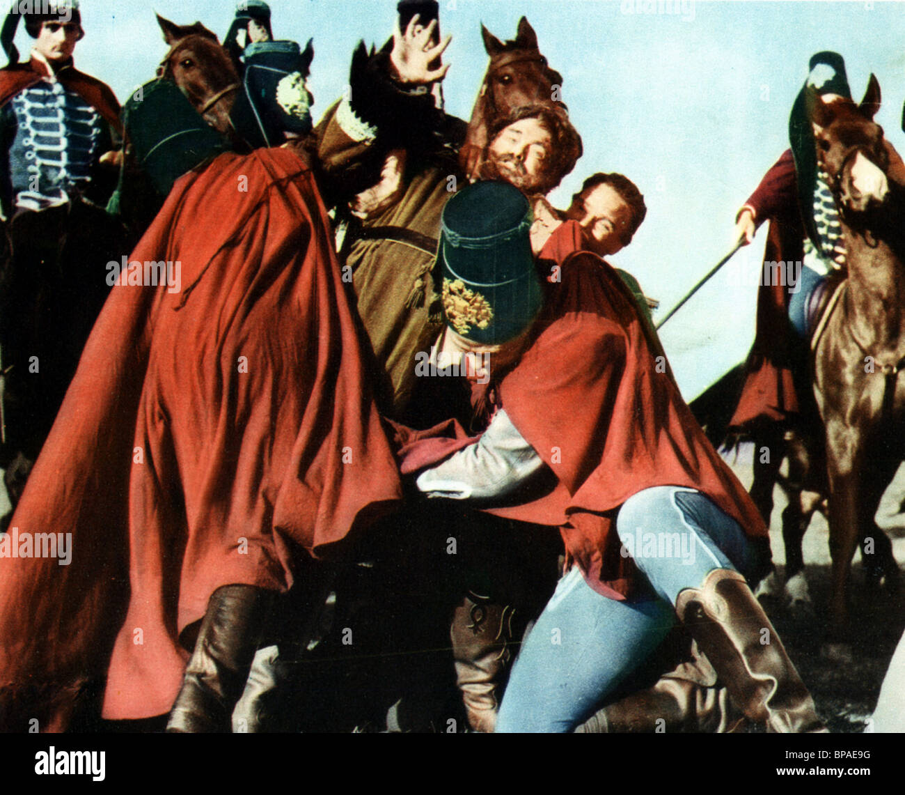 BATTLE SCENE TEMPEST (1958) - Stock Image