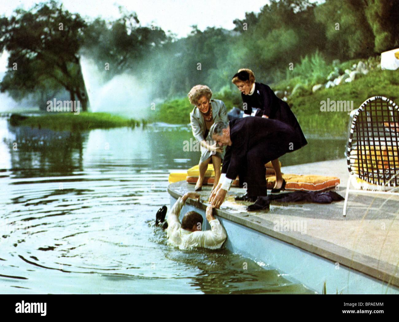 Brian Keith Leo G Carroll The Parent Trap 1961 Stock Photo Alamy