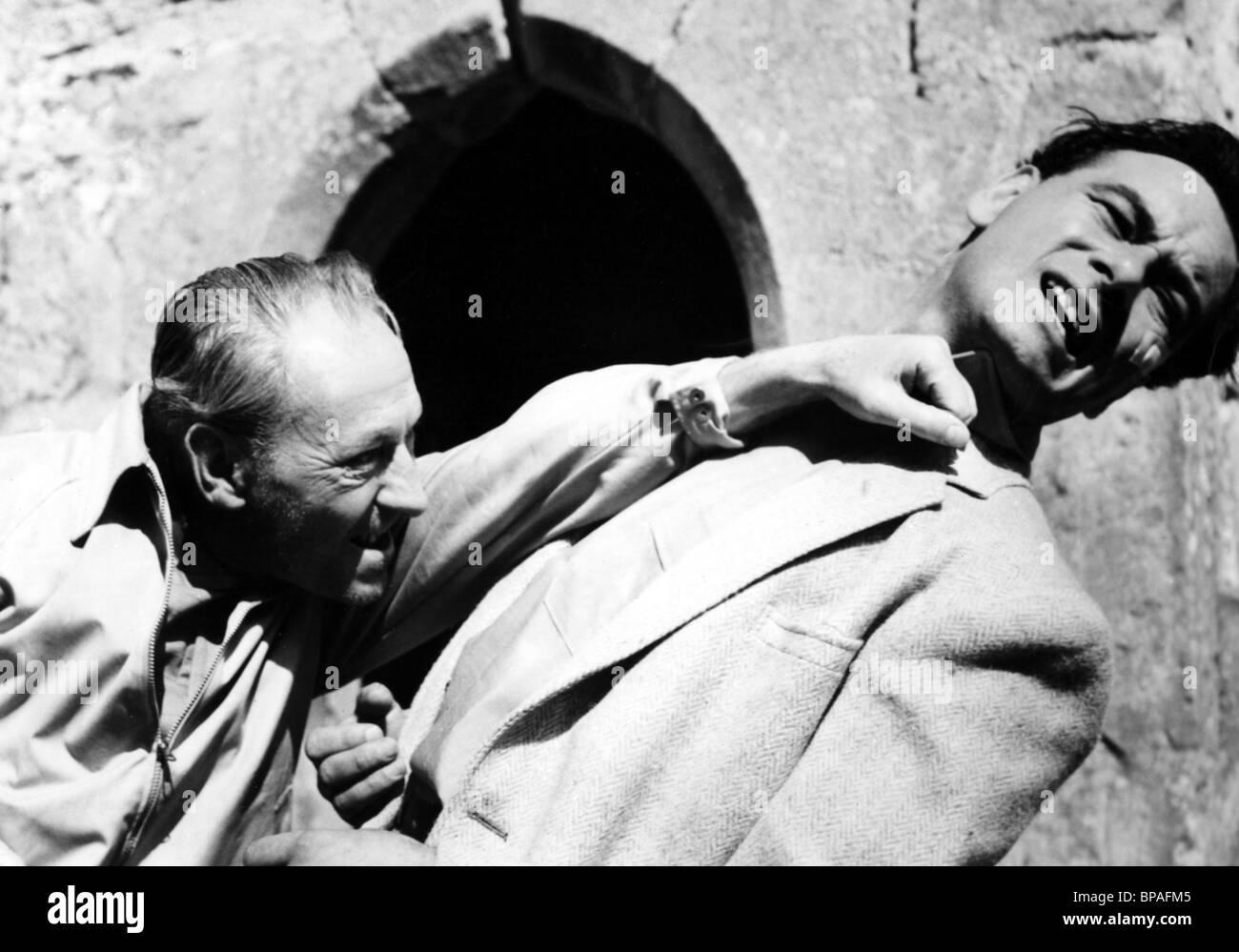 WILLIAM HARTNELL & CONRAD PHILLIPS THE DESPERATE MAN (1959) - Stock Image