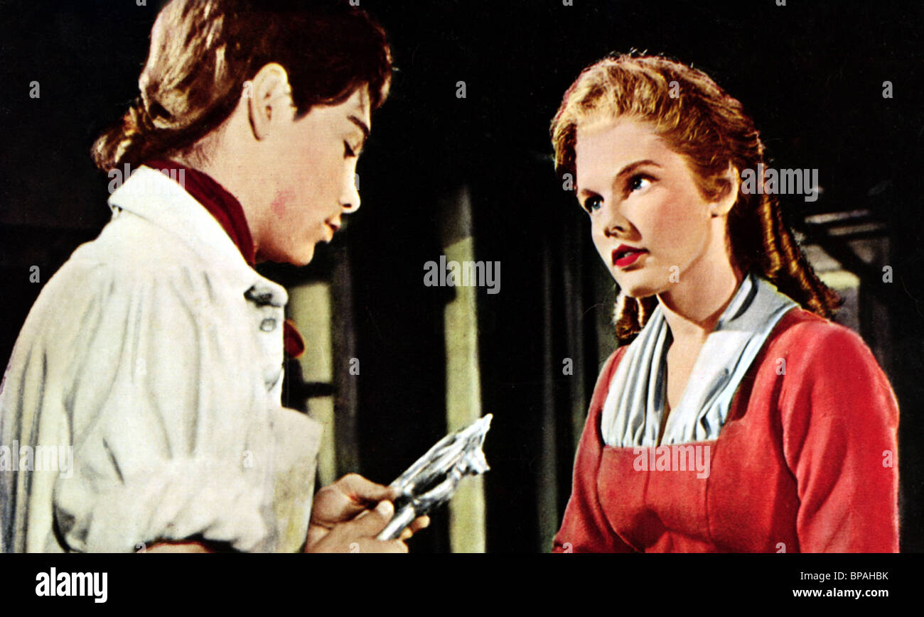 HAL STALMASTER LUANA PATTEN JOHNNY TREMAIN 1957