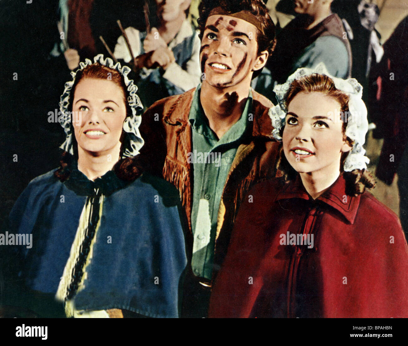 VIRGINIA CHRISTINE RICHARD BEYMER LUANA PATTEN JOHNNY TREMAIN 1957