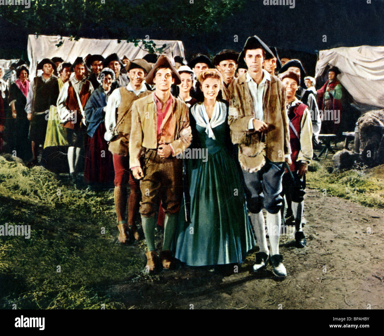 HAL STALMASTER LUANA PATTEN RICHARD BEYMER JOHNNY TREMAIN 1957