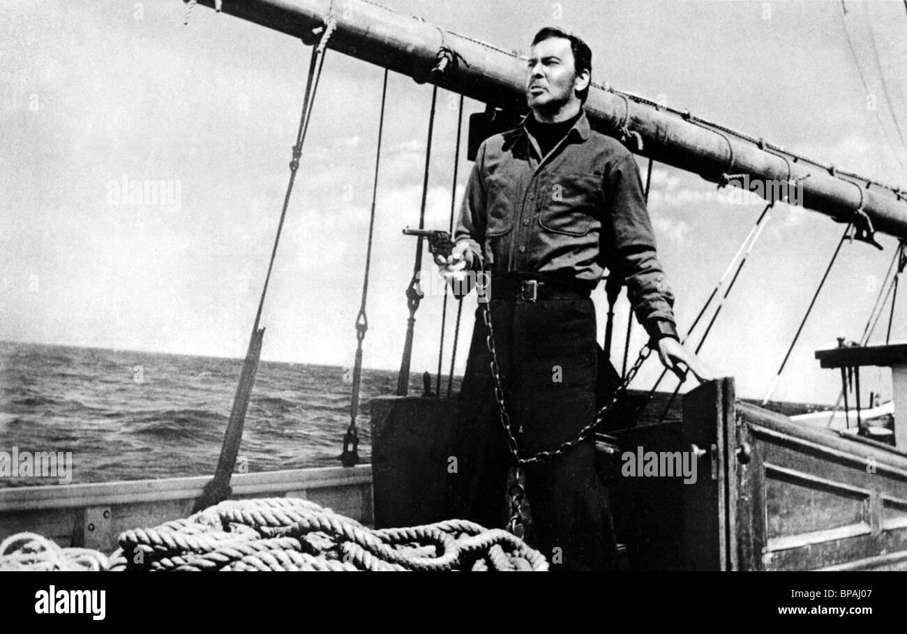 Barry Sullivan Wolf Larsen 1958 Stock Photo Alamy