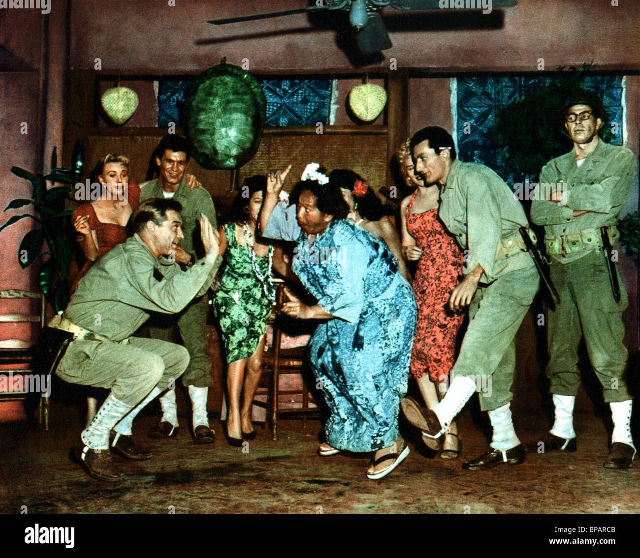 MIKE CONNORS & HILO HATTIE SUICIDE BATTALION (1958) - Stock Image