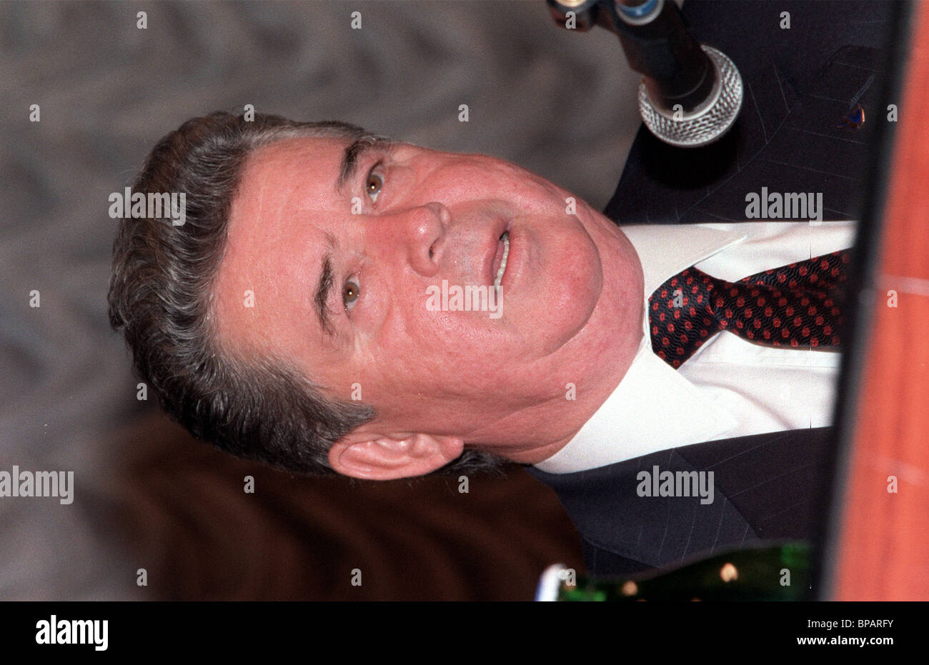Chairman of the Gazprom Board Rem Vyakhirev - Stock Image