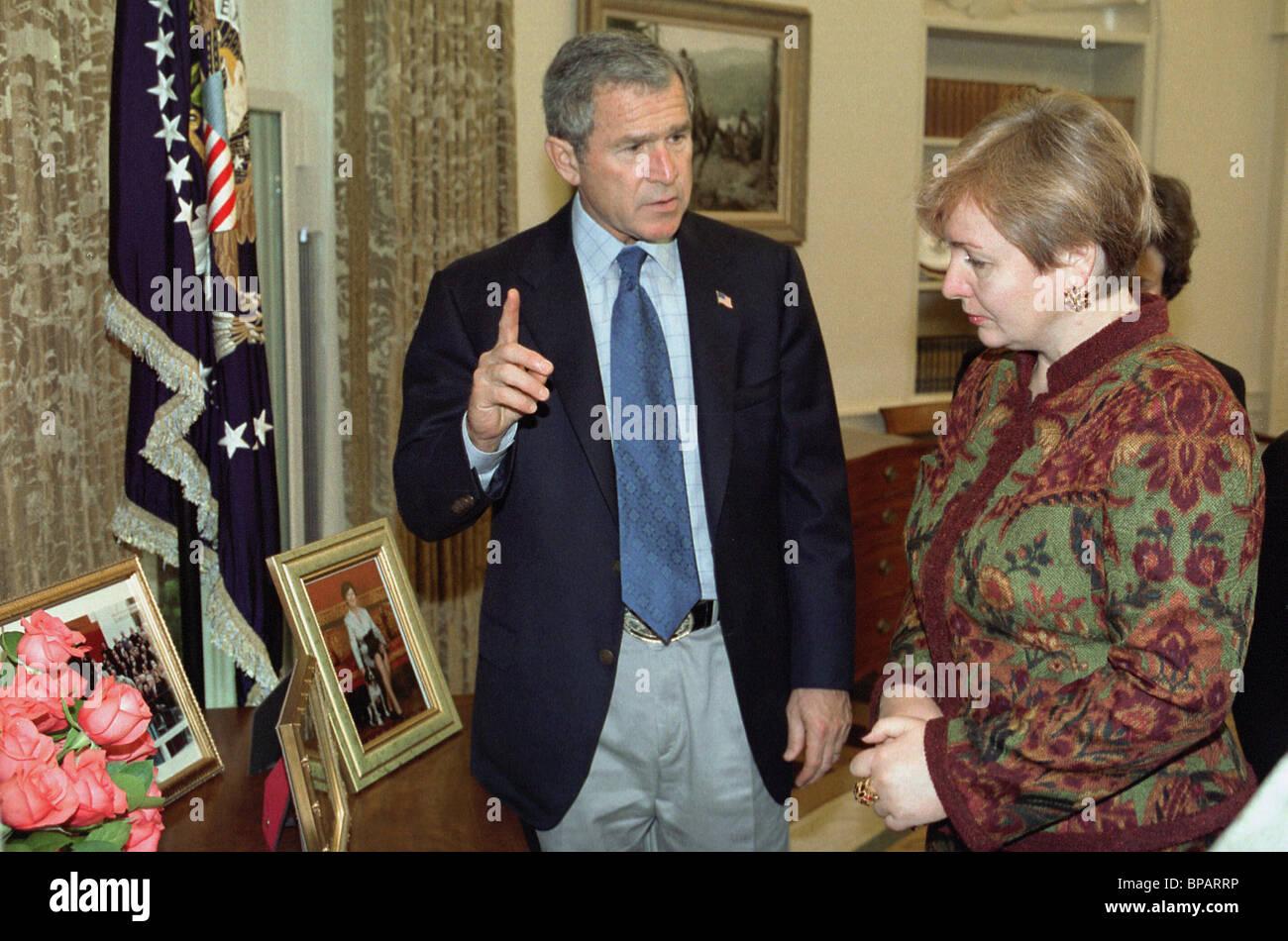 Lyudmila Putina in USA - Stock Image