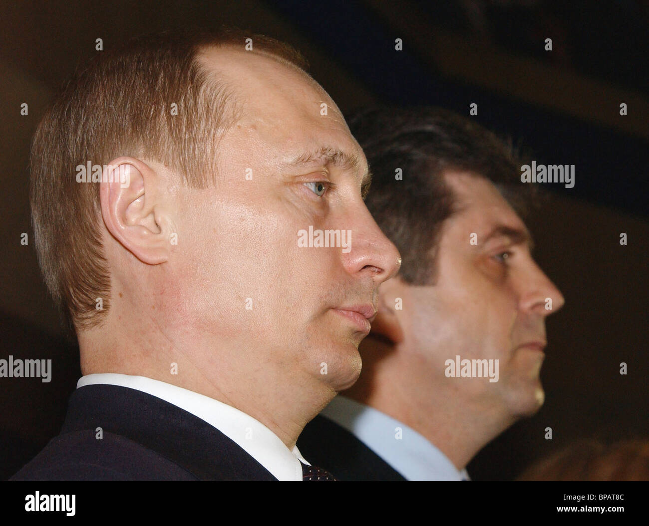 Putin arrives in Sofia for a visit - Stock Image