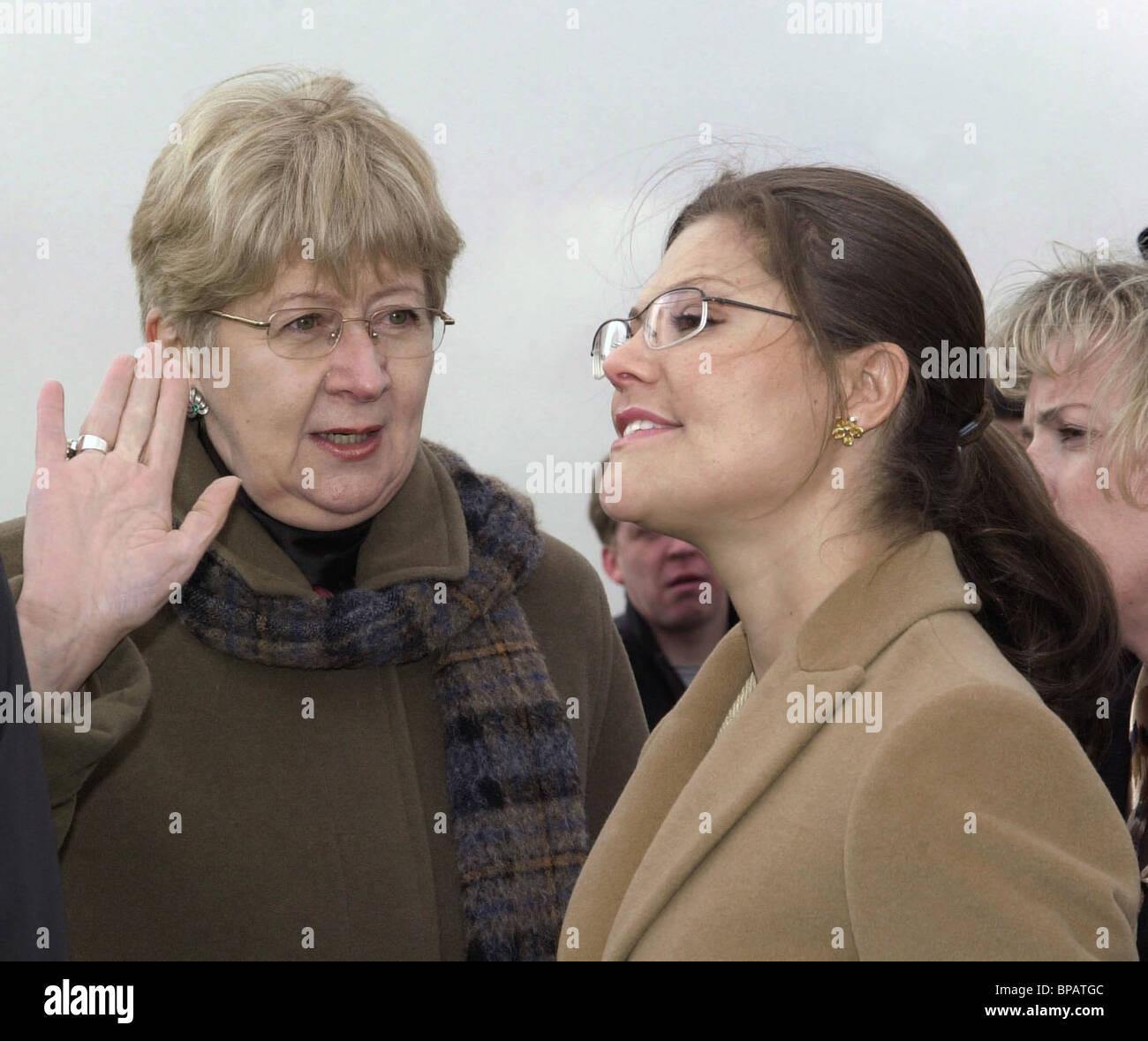 Sweden's Crown Princess Victoria visits St.Petersburg - Stock Image