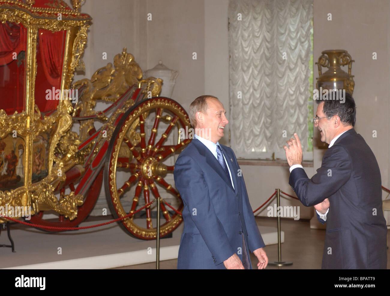 Putin, world leaders visit Hermitage - Stock Image